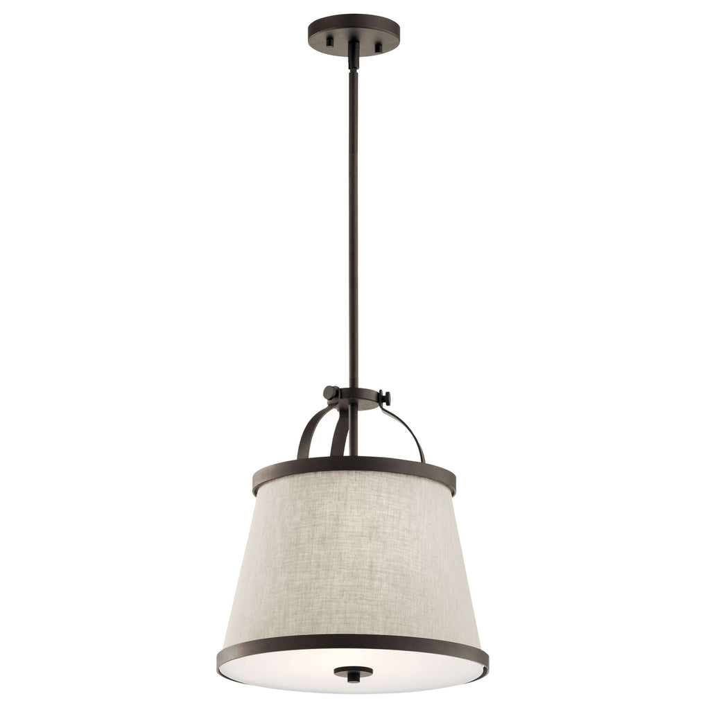 Amarena Pendant/Semi Flush 2 Light - Olde Bronze