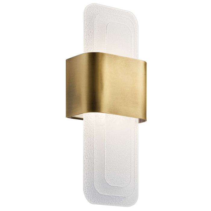 Serene Wall Sconce LED - Natural Brass