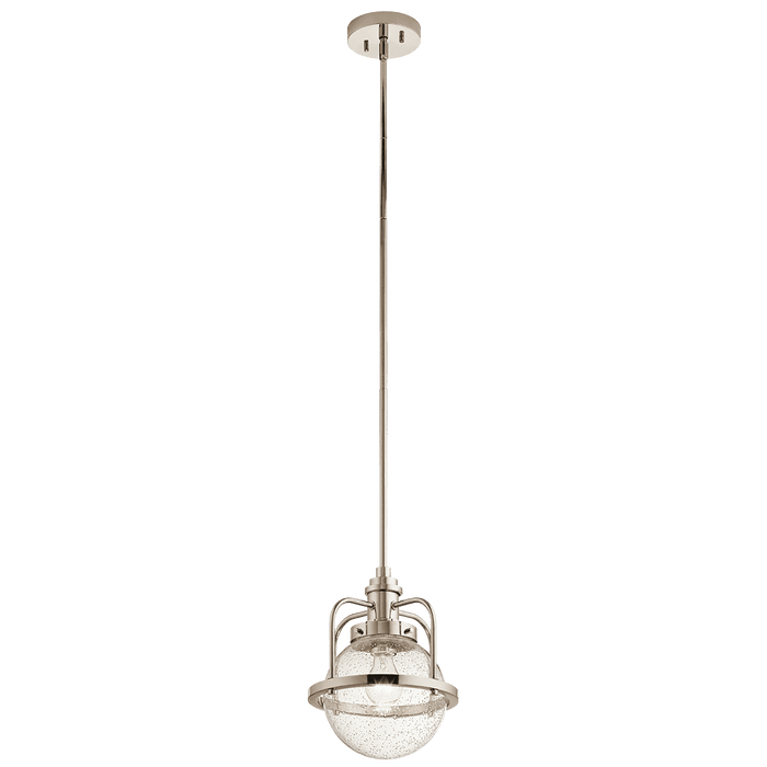 Triocent Pendant/Semi Flush 1 Light - Polished Nickel