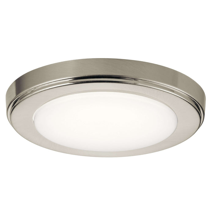 Zeo 4000K Edgelit LED 7 Inch round Downlight - Brushed Nickel