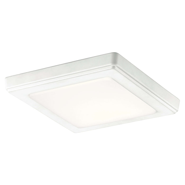 Zeo 3000K Edgelit LED 7 Inch square Downlight - White