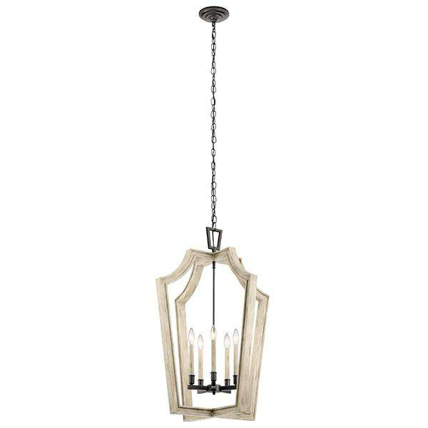 Botanica 5 Light Chandelier - Anvil Iron