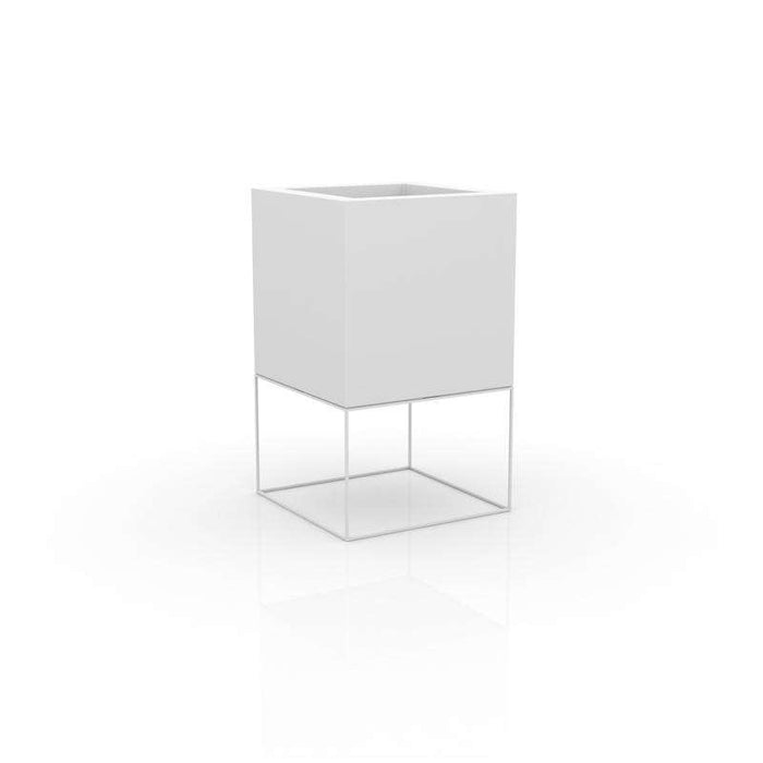 "Vela Cube Planter 39""1/4  By Vondom"