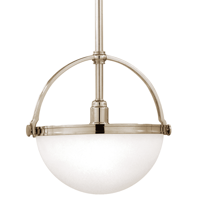 Stratford 1 Light Pendant Polished Nickel