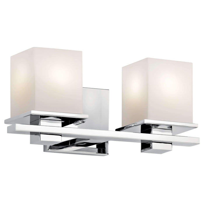 Tully Bath 2 Light - Chrome