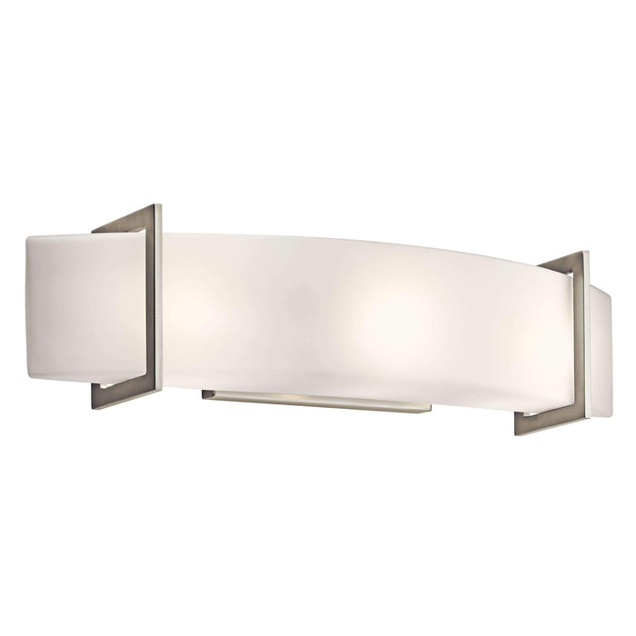 Crescent View Linear Bath 24in - Brushed Nickel