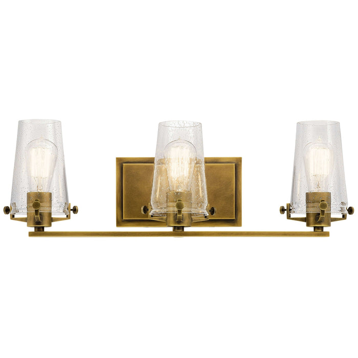Alton Bath 3 Light - Natural Brass