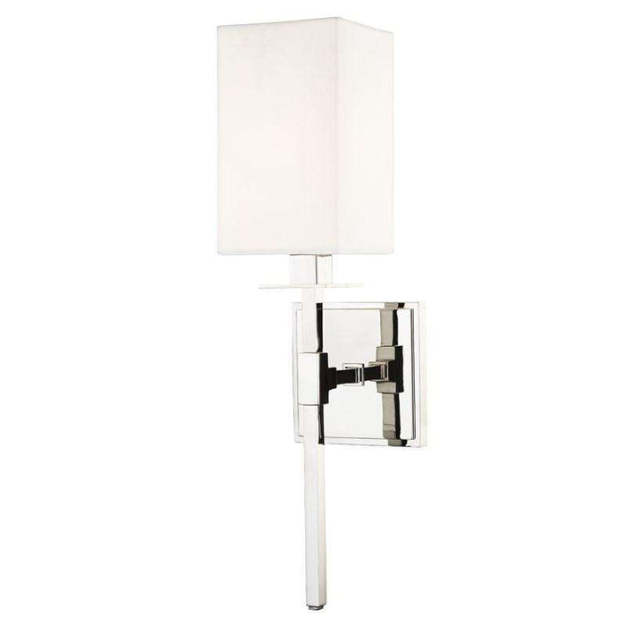 Taunton 1 Light Wall Sconce Polished Nickel