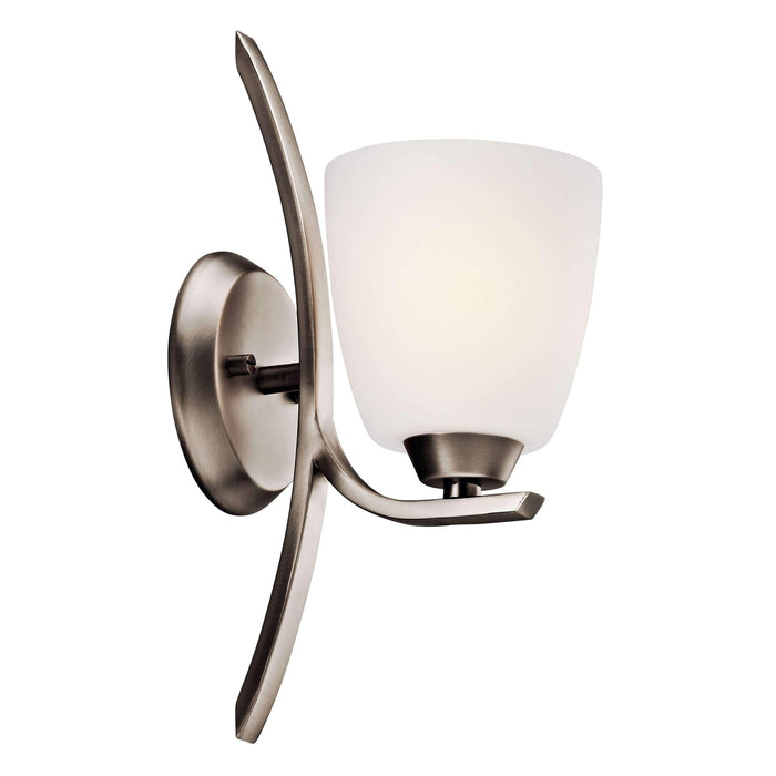 Granby Wall Sconce 1 Light - Brushed Pewter