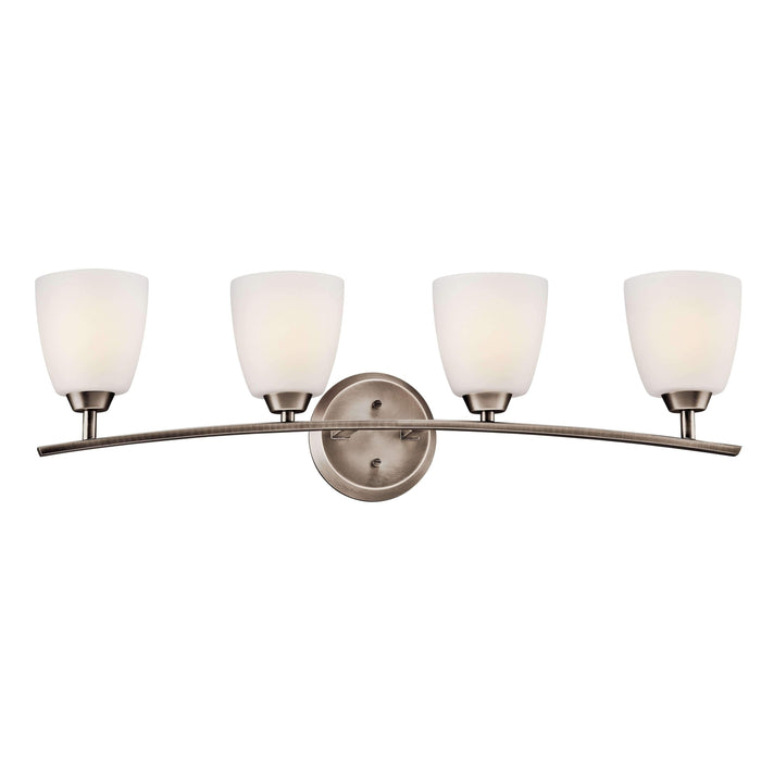 Granby Bath 4 Light - Brushed Pewter