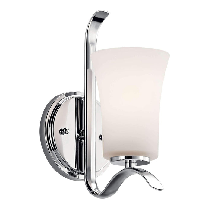 Armida Wall Sconce 1 Light - Chrome