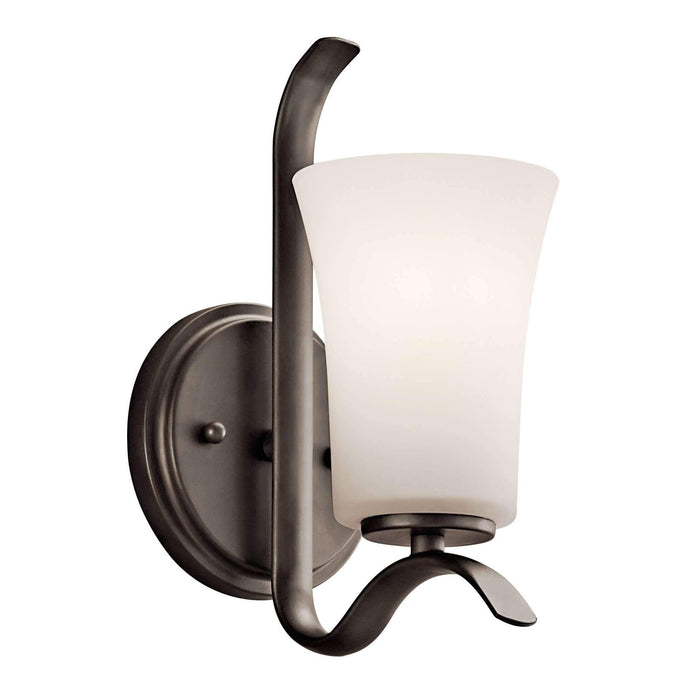 Armida Wall Sconce 1 Light - Olde Bronze