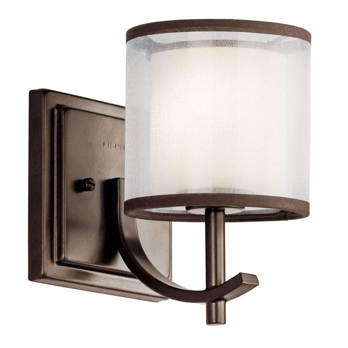 Tallie Wall Sconce 1 Light - Mission Bronze