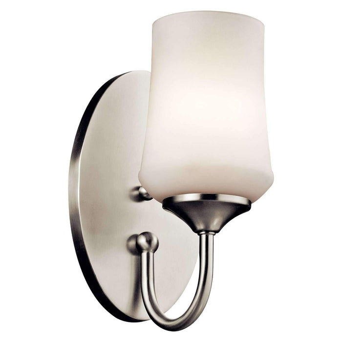 Aubrey Wall Sconce 1 Light - Brushed Nickel