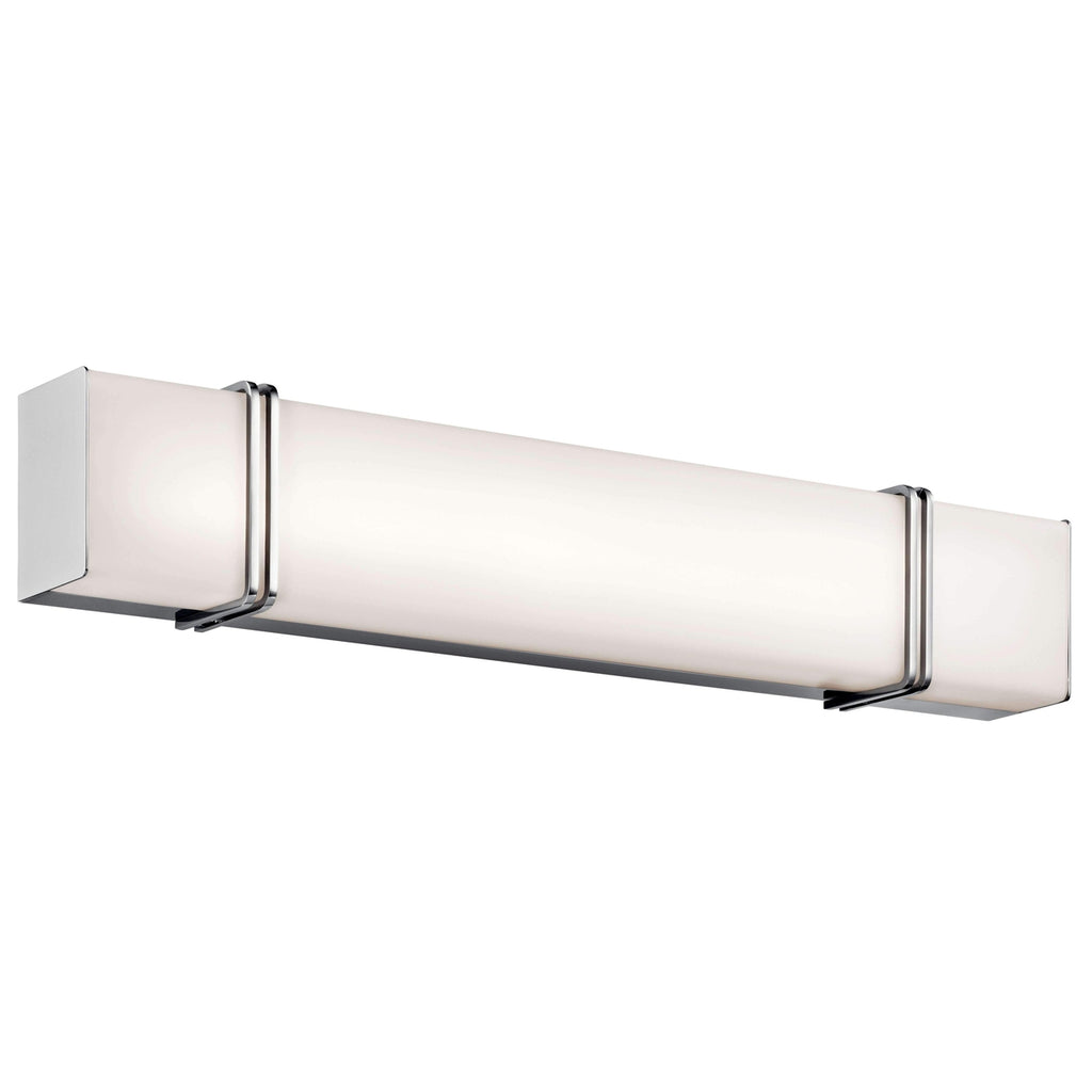 Impello Linear Bath 30in LED - Chrome
