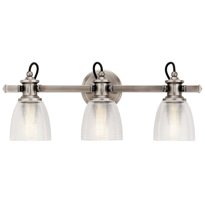 Flagship Bath 3 Light - Classic Pewter