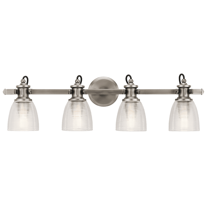 Flagship Bath 4 Light - Classic Pewter