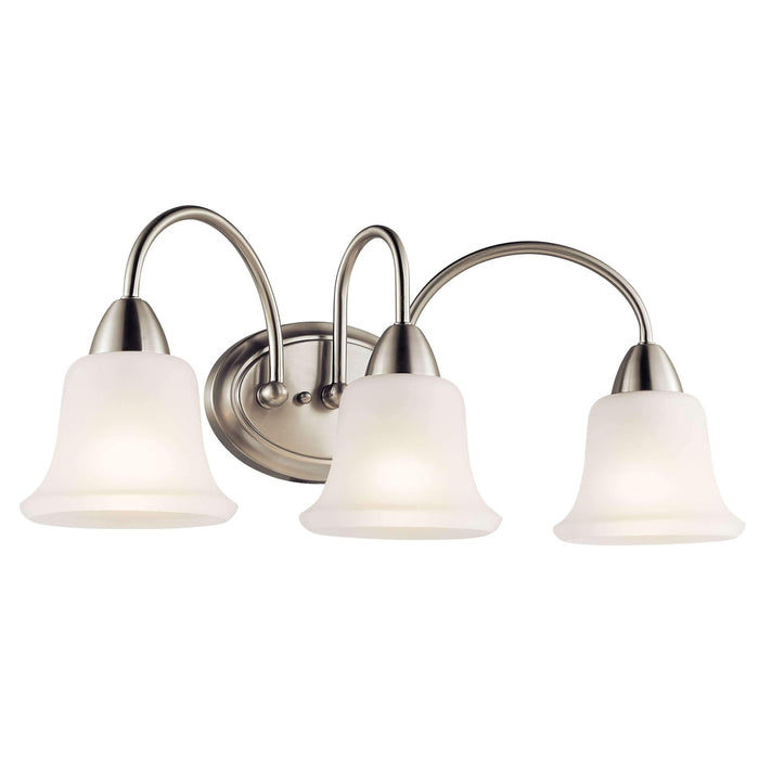 Nicholson Bath 3 Light - Brushed Nickel
