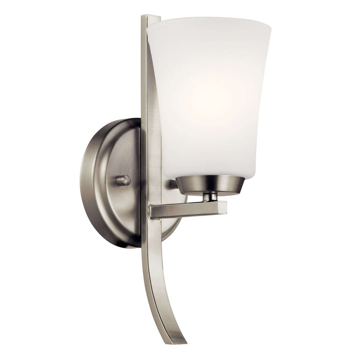 Tao Wall Sconce 1 Light - Brushed Nickel