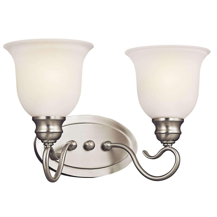 Tanglewood Bath 2 Light - Brushed Nickel
