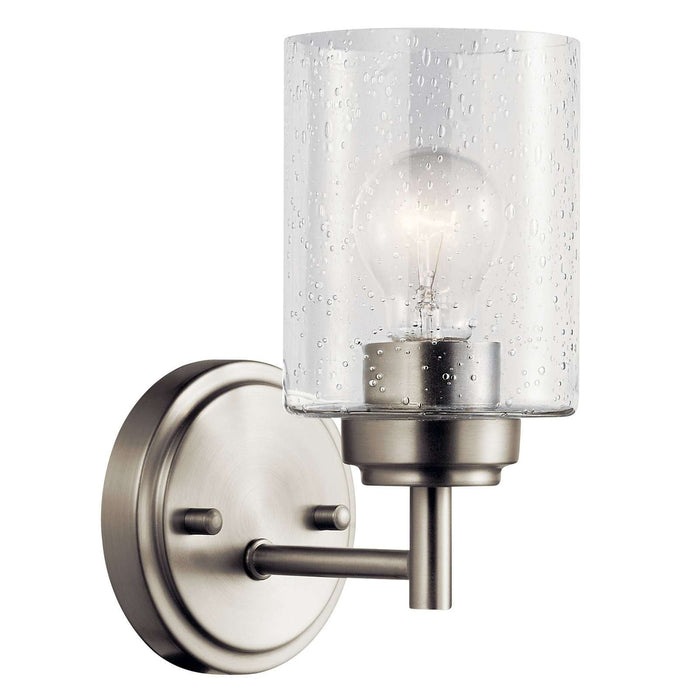 Winslow Wall Sconce 1 Light - Brushed Nickel