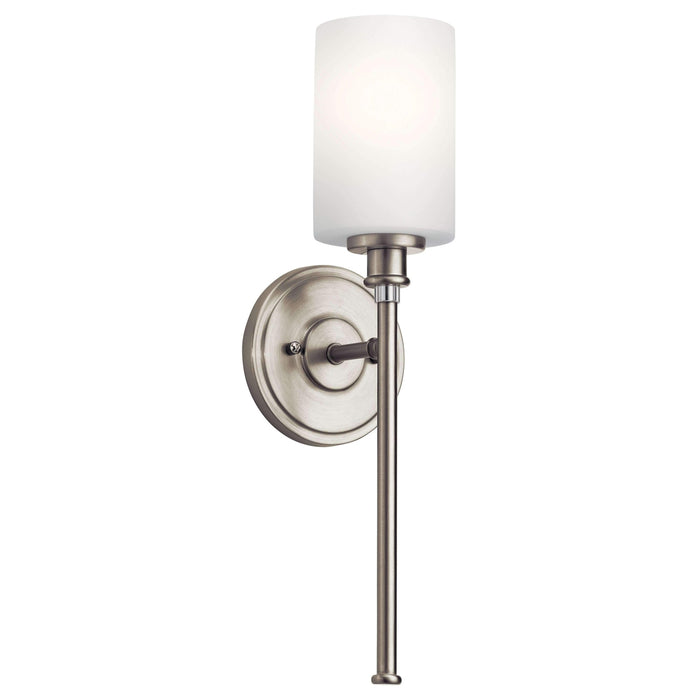 Joelson Wall Sconce 1 Light - Brushed Nickel