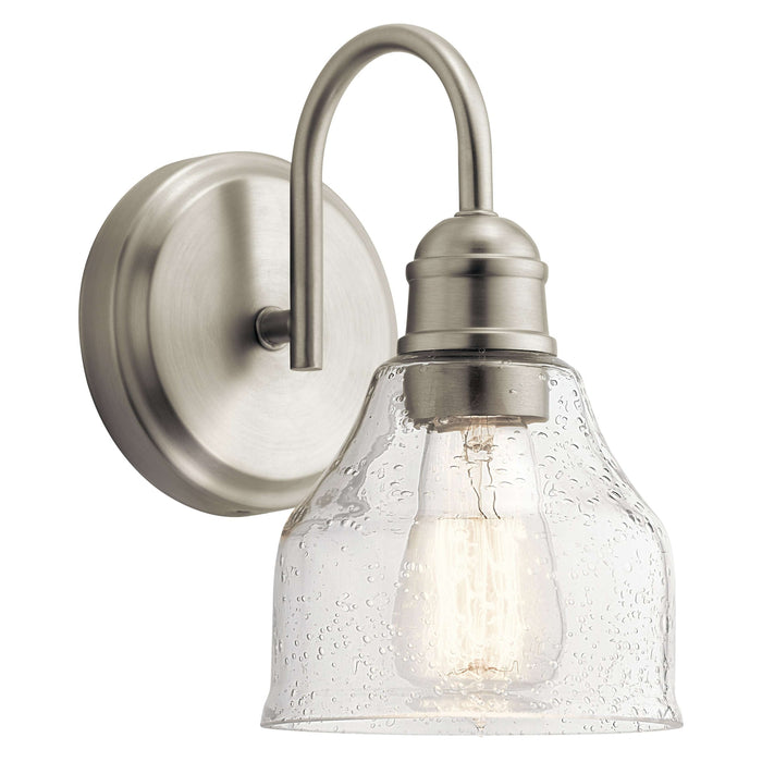 Avery 1 Light Wall Sconce - Brushed Nickel