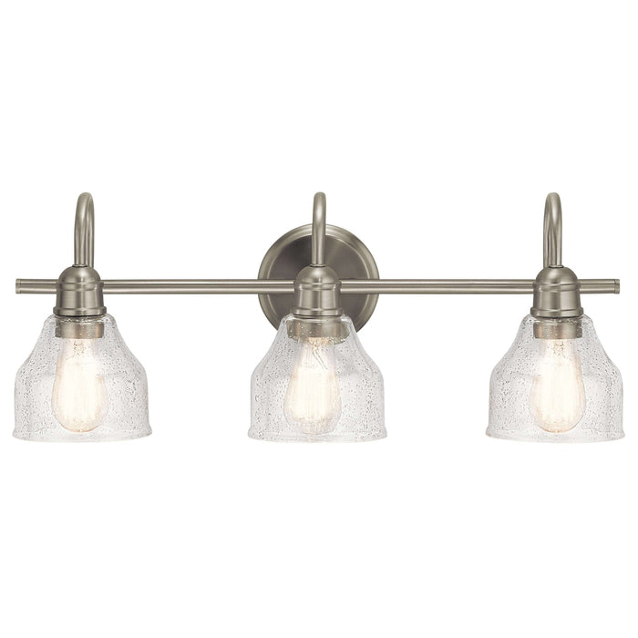 Avery 3 Light Bath Light - Brushed Nickel