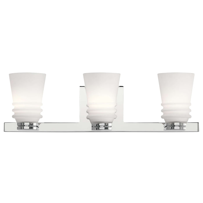Victoria 3 Light Bath Light - Chrome
