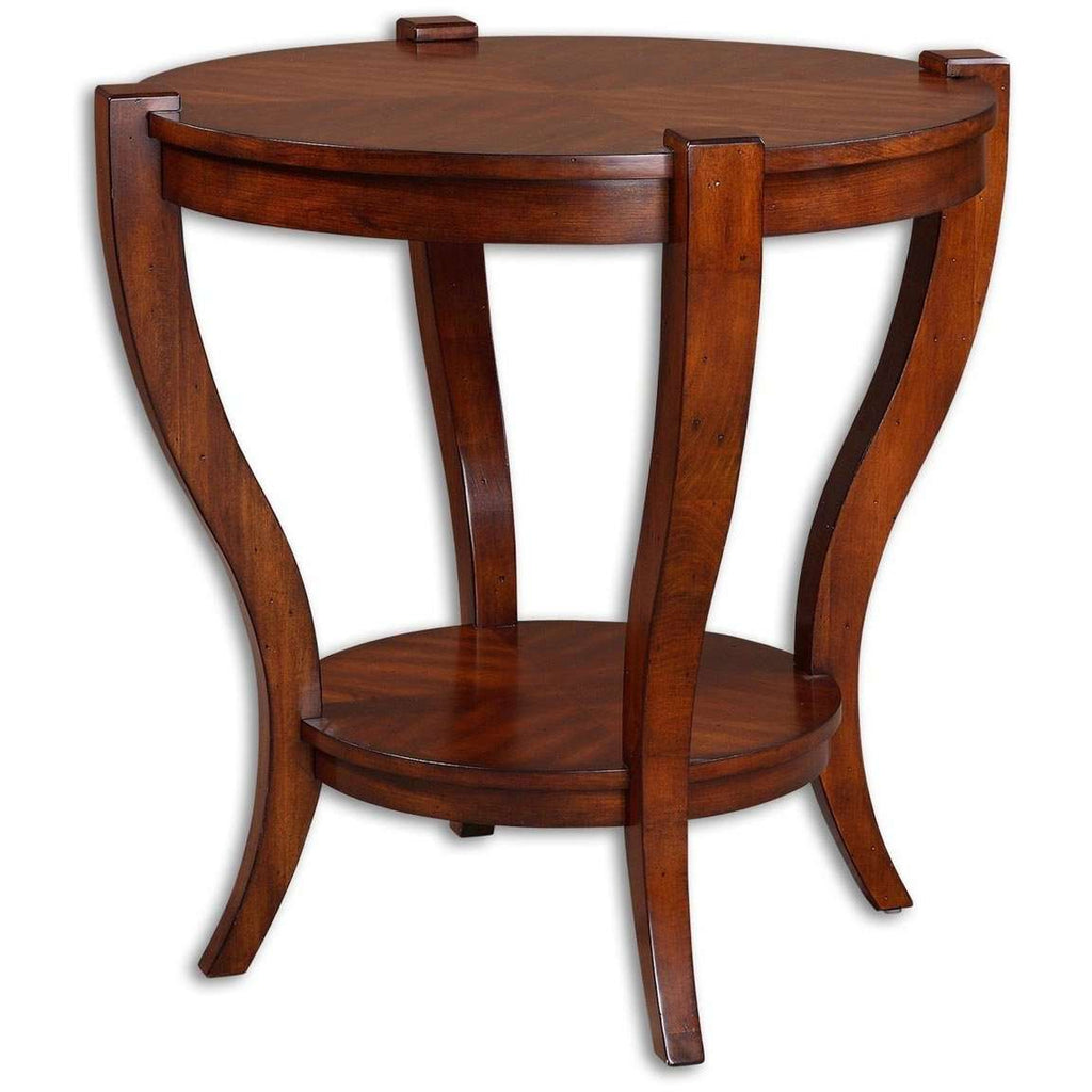 Uttermost Bergman Round End Table
