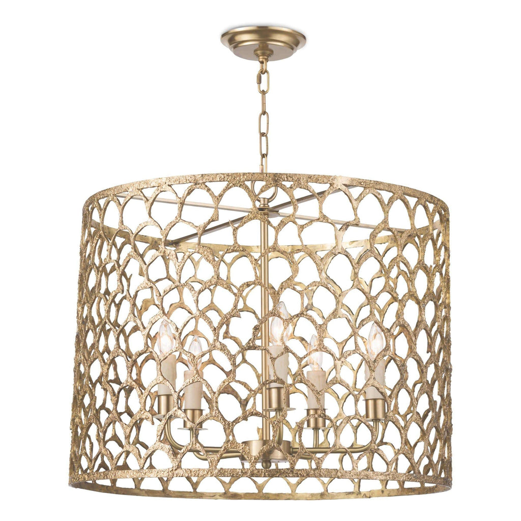 Cabana Chandelier (Brass)