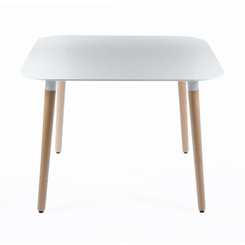 Modern Polly Dining Table - White Top