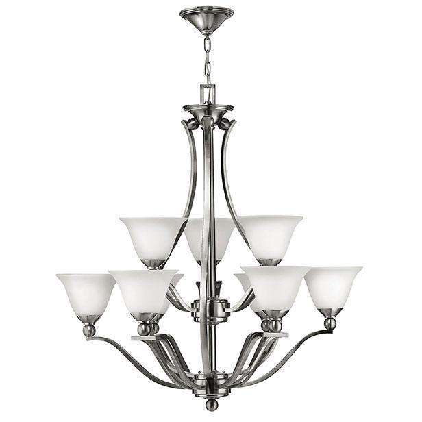 Bolla Chandelier Brushed Nickel
