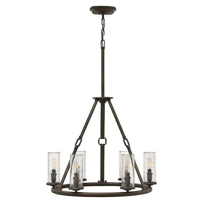 Dakota Chandelier Oil Rubbed Bronze