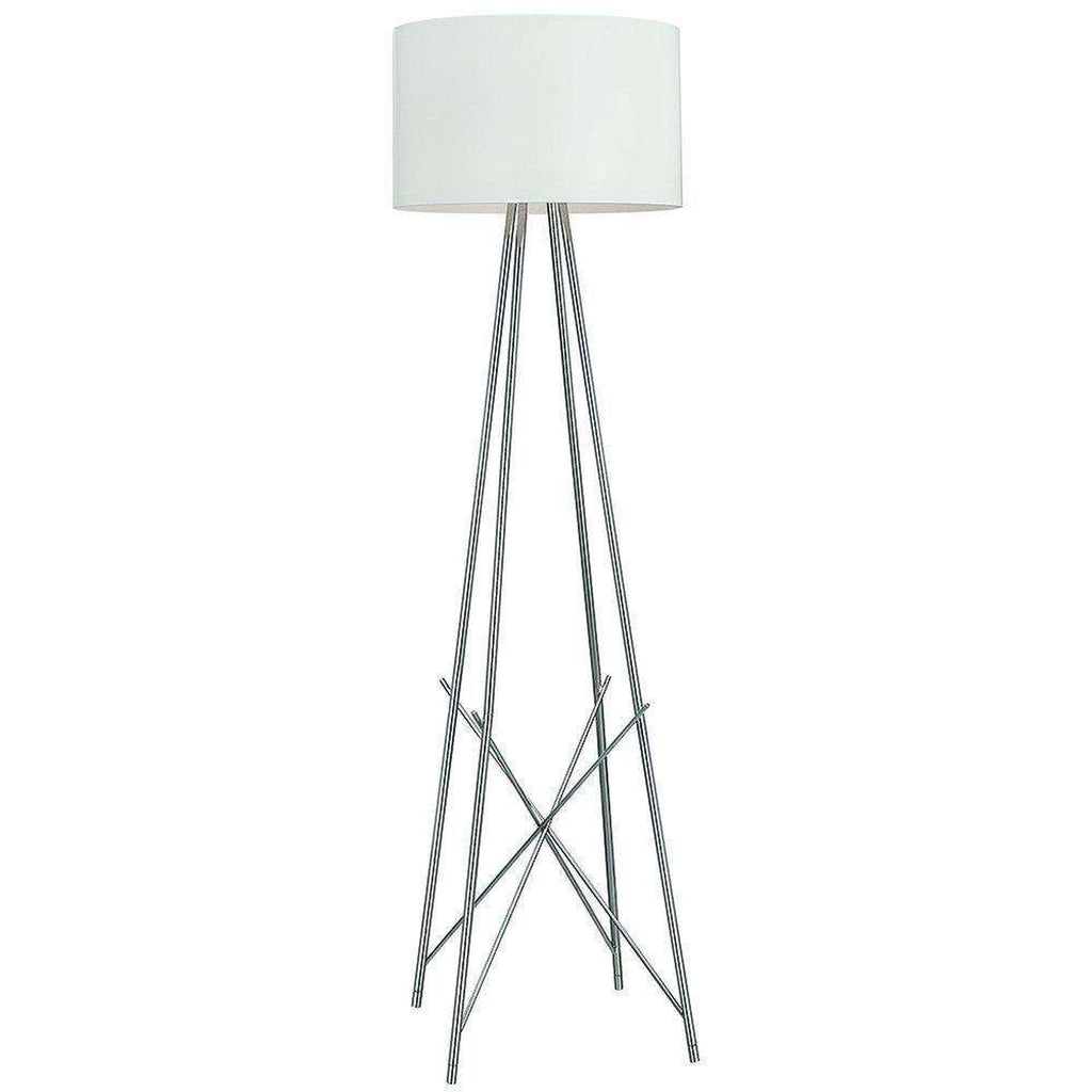 Mid-Century Modern Reproduction Ray F1 Floor Lamp - White Inspired by Rodolfo Dordoni