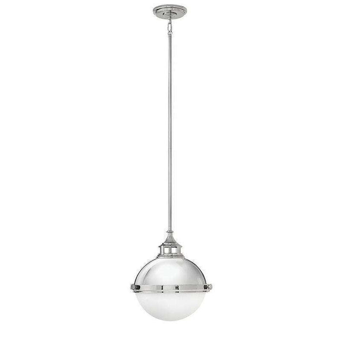 Pendant Fletcher Polished Nickel *quickship*