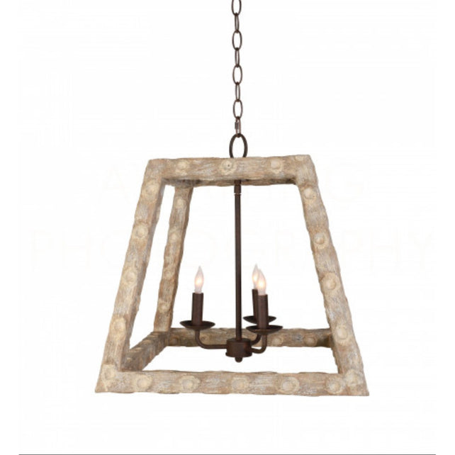 OysterField Stick Lantern Chandelier