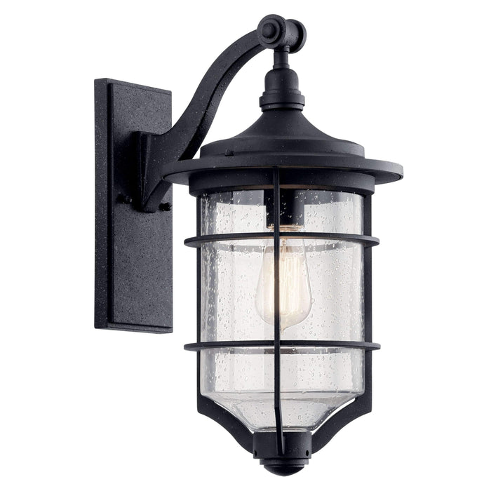 Royal Marine Outdoor Wall 1 Light - Distressed Black