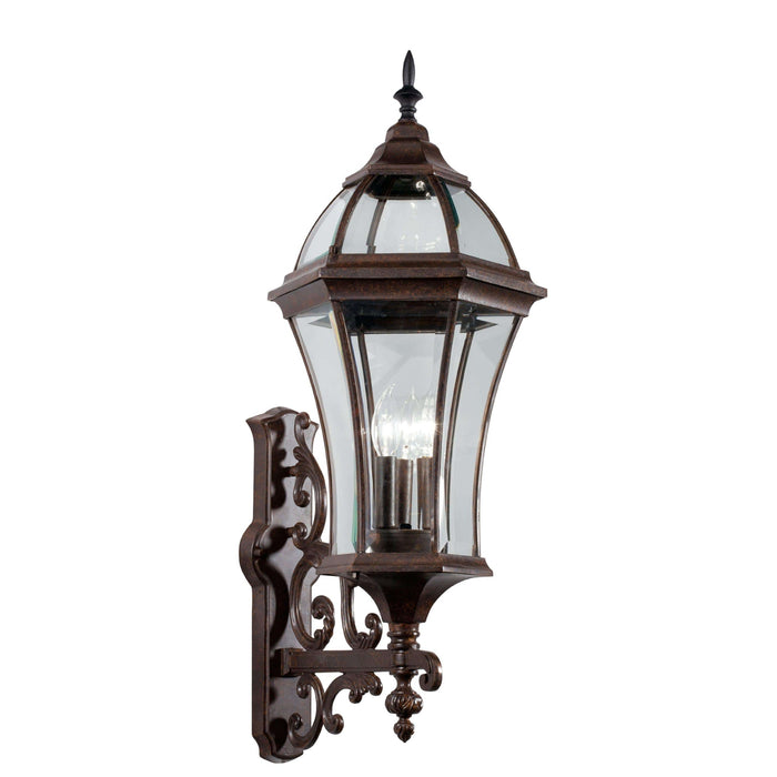 Townhouse Outdoor Wall 3 Light - Tannery Bronze