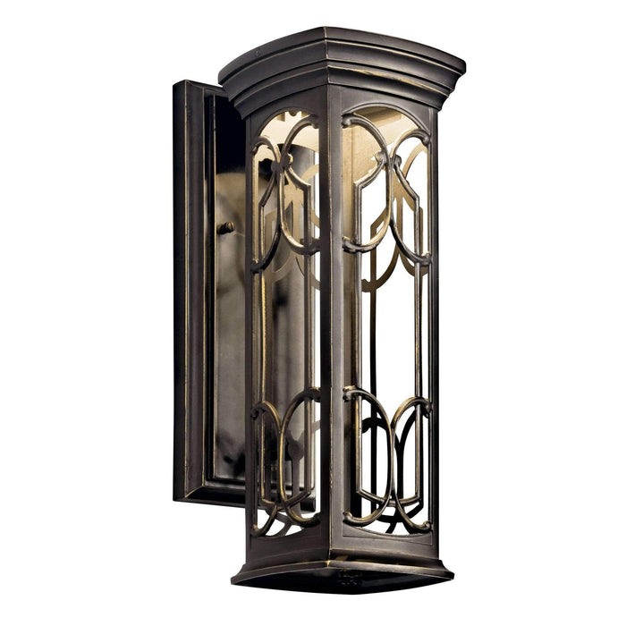 Franceasi Outdoor Wall 1 Light LED - Olde Bronze