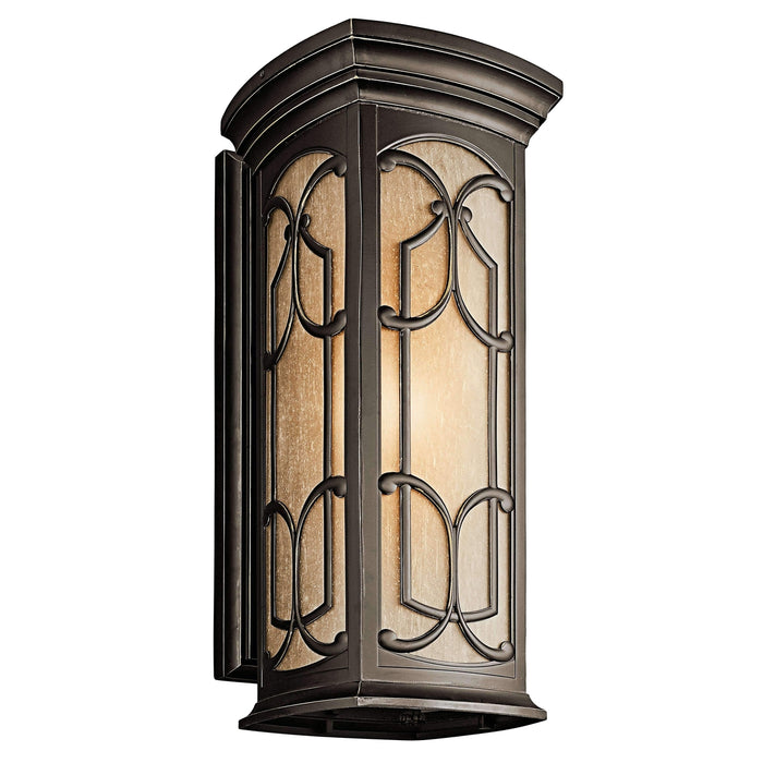 Franceasi Outdoor Wall 1 Light - Olde Bronze