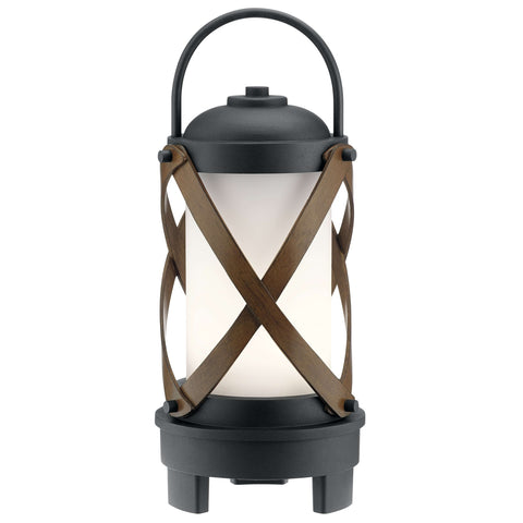 Berryhill Portable Bluetooth LED Lantern - Textured Black