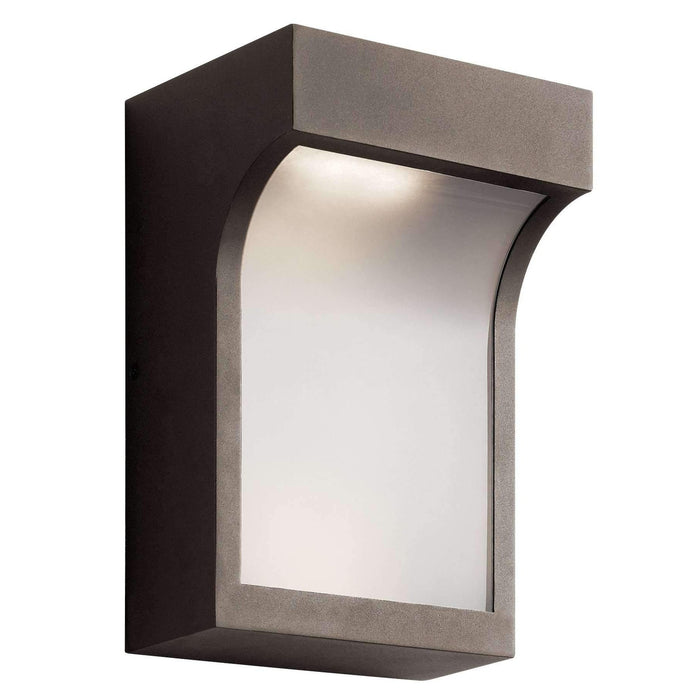 Shelby Outdoor Wall 2 Light LED - Textured Architectural Bronze