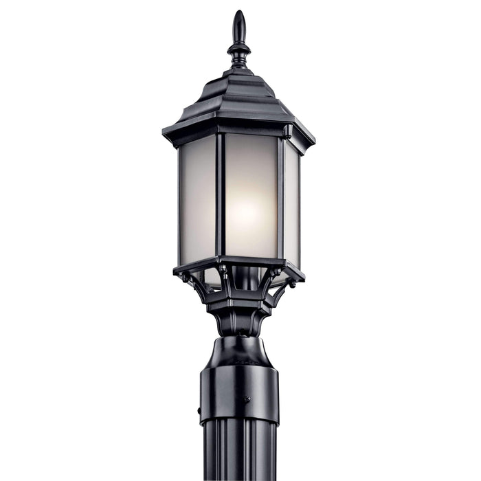 Chesapeake Outdoor Post Mount 1 Light - Black