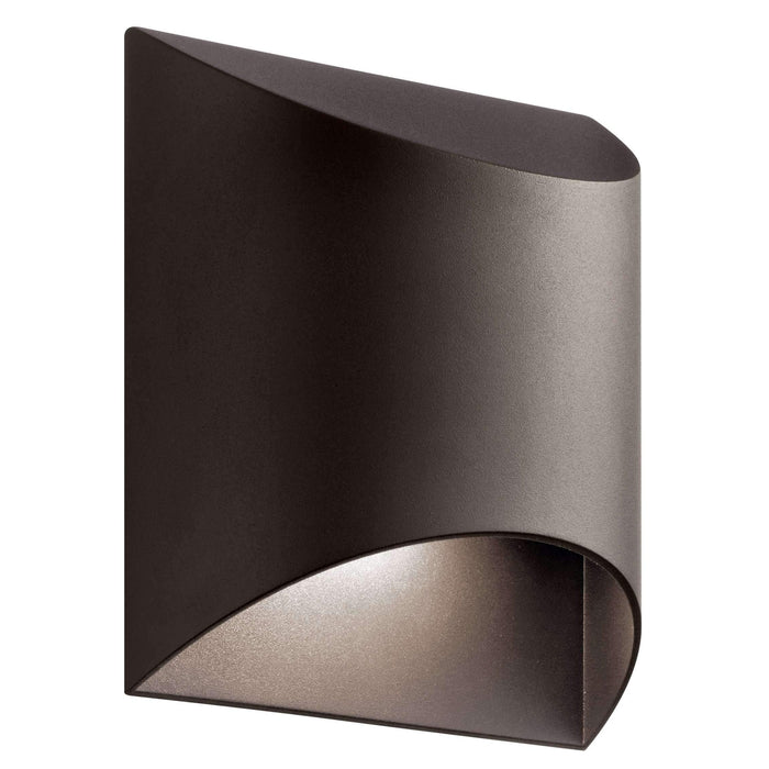Wesley Outdoor Wall 1 Light LED - Textured Architectural Bronze