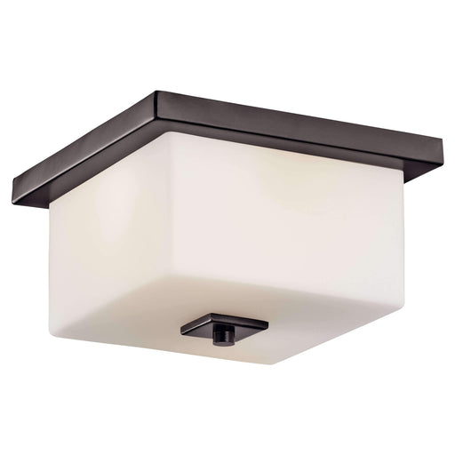 Bowen Outdoor Ceiling 2 Light - Architectural Bronze