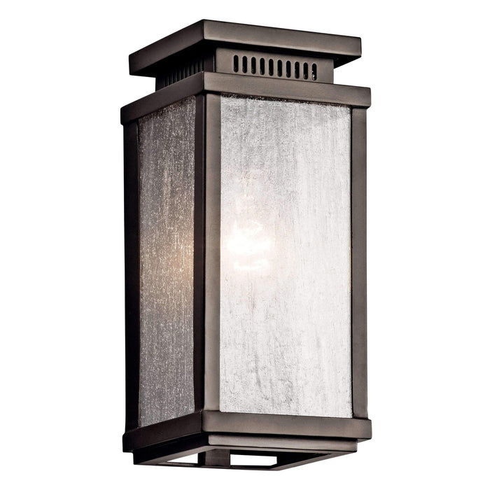 Manningham Outdoor Wall 1 Light - Olde Bronze
