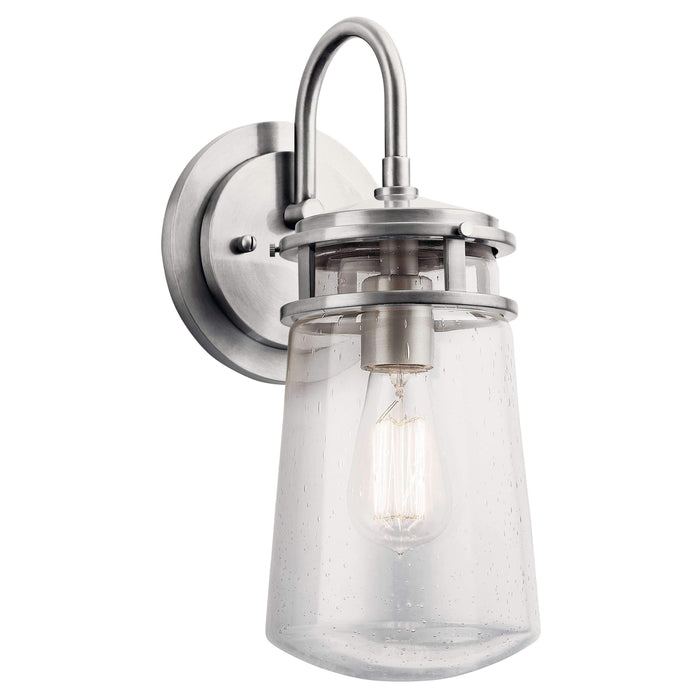 Lyndon Outdoor Wall 1 Light - Brushed Aluminum