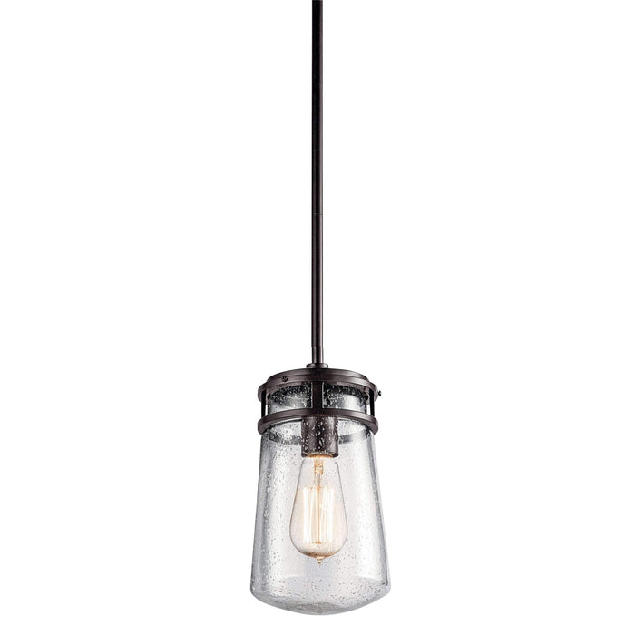 Lyndon Outdoor Pendant 1 Light - Architectural Bronze