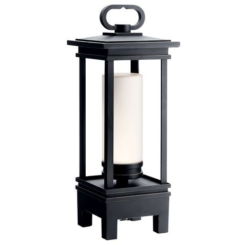 South Hope Portable Bluetooth LED Lantern - Rubbed Bronze